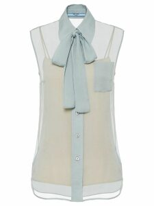 Prada Silk chiffon shirt - Blue