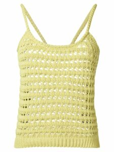 Prada crochet tank top - Green
