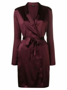 La Perla Reward short robe - Purple