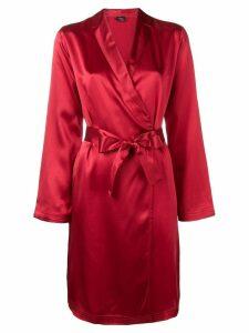 La Perla kimono short robe - Red