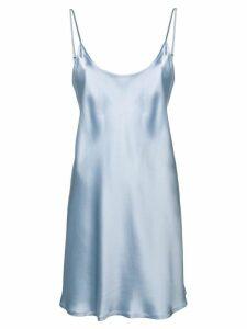 La Perla classic cami dress - Blue