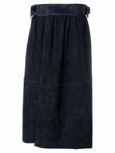 Joseph belted wrap skirt - Blue
