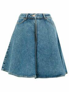 Aalto A-line denim skirt - Blue