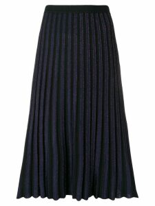 Dvf Diane Von Furstenberg pleated midi skirt - Black