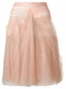 Prada tulle skirt - Neutrals