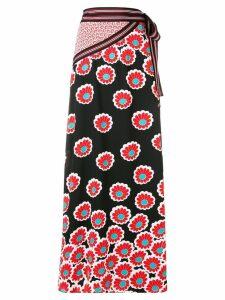 Diane von Furstenberg floral print skirt - Black