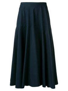 Aspesi high-rise flared skirt - Blue