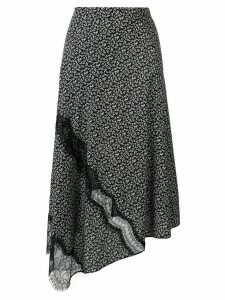 Joseph floral lace skirt - Black