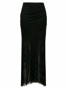 Moschino long tassel skirt - Black