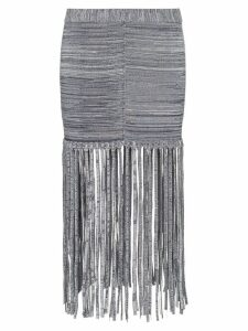 Chloé fringe detail skirt - White