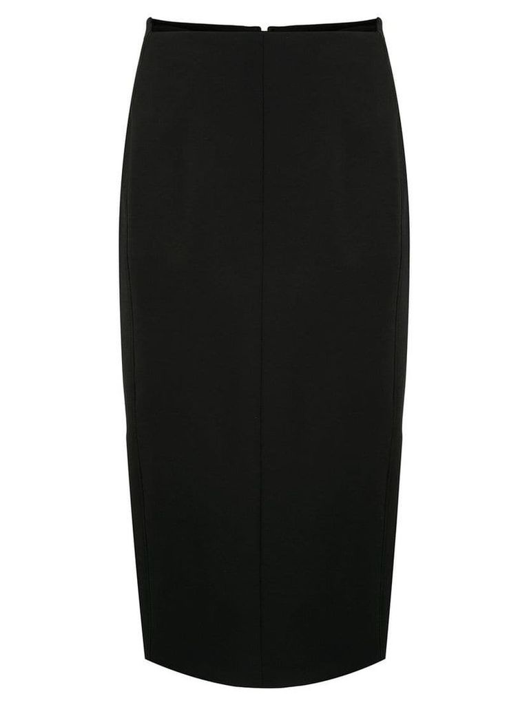 Joseph fitted midi skirt - Black