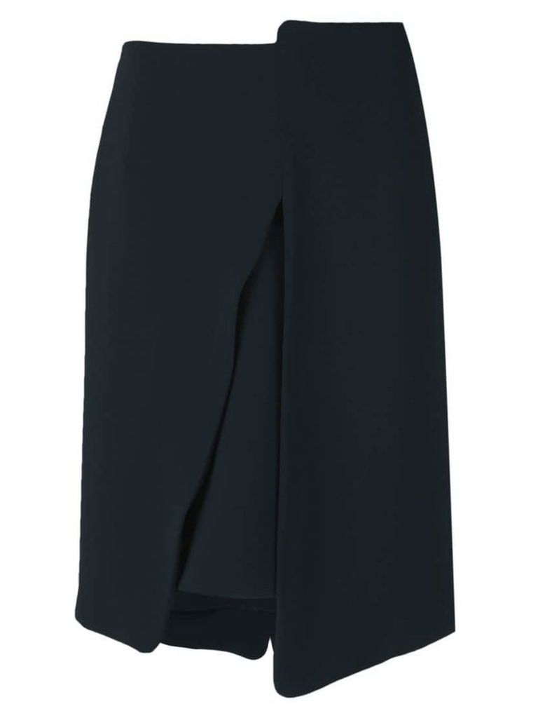 Gloria Coelho cutout skirt - Blue