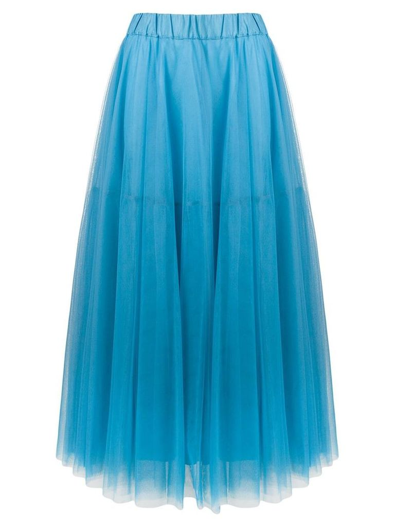 P.A.R.O.S.H. Nylla tulle skirt - Blue