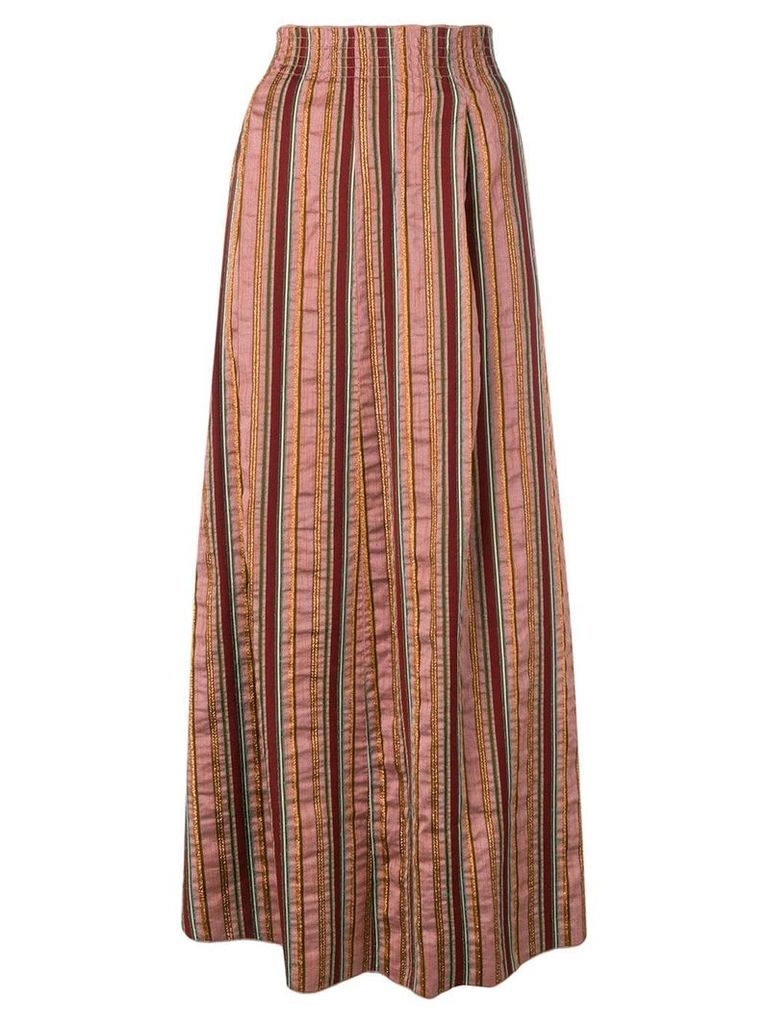 Forte Forte striped skirt - Pink