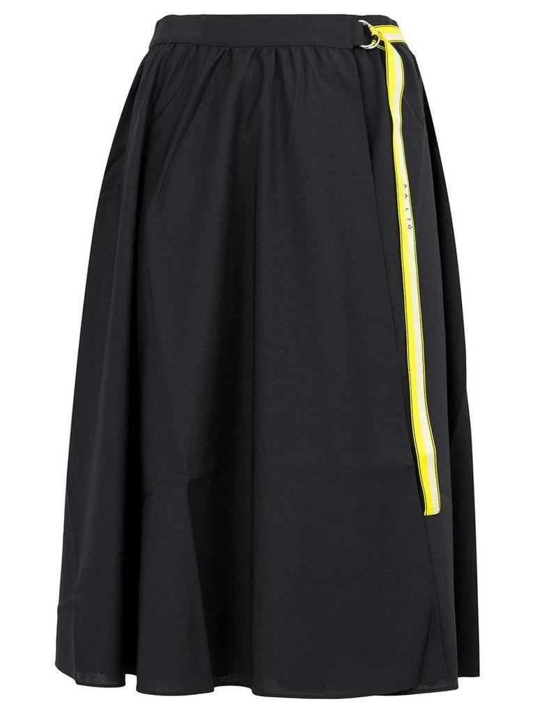 Aalto belted skirt - Blue