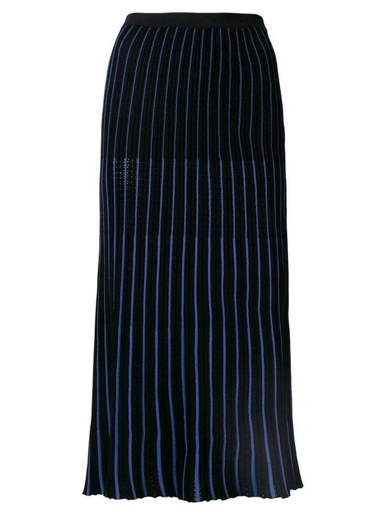 Sonia Rykiel pleated maxi skirt - Black