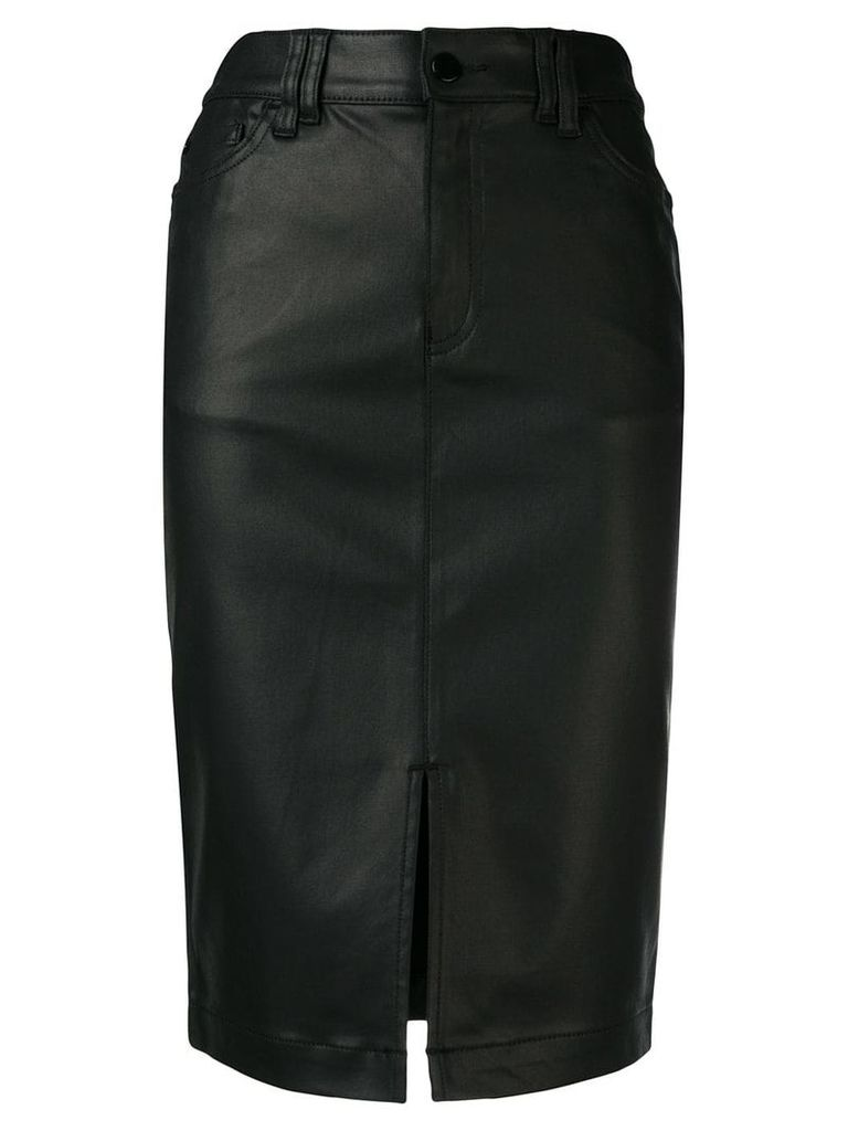 Emporio Armani high waisted pencil skirt - Black