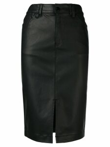 Emporio Armani high waisted pencil skirt - Black