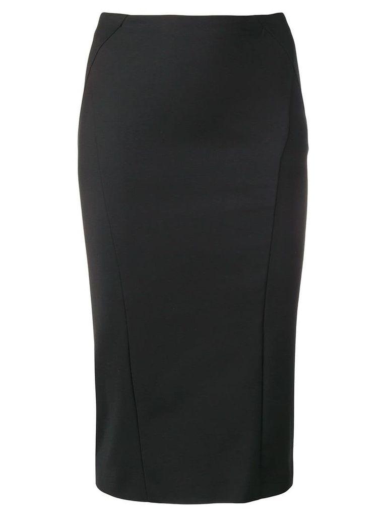 Patrizia Pepe high-waisted pencil skirt - Black