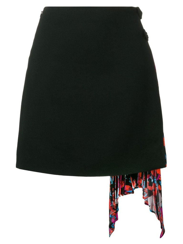 Givenchy side pleated skirt - Black