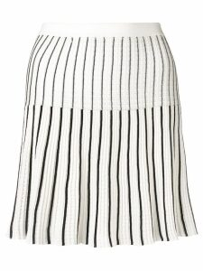 Sonia Rykiel pleated tennis skirt - White