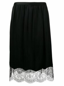 Joseph lace trim skirt - Black