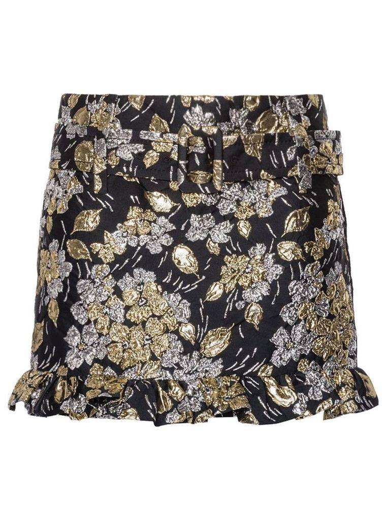 Prada Cloqué skirt - Gold
