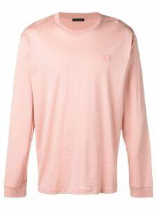 Acne Studios long sleeve T-shirt - Pink