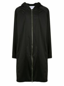 Strateas Carlucci Extension parka coat - Black