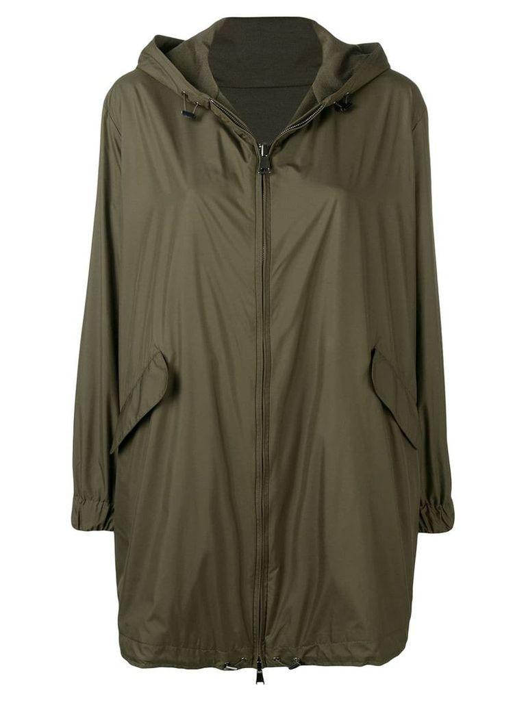 Manzoni 24 hooded parka coat - Green