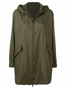 Manzoni 24 hooded parka coat - Green