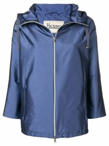 Herno short rain coat - Blue
