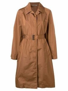 Bottega Veneta belted trench coat - Brown