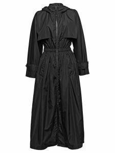 Prada Feather nylon raincoat - Black