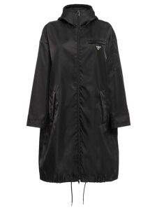 Prada Nylon gabardine raincoat - Black