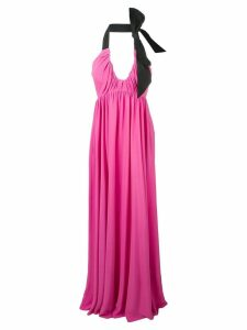 Nº21 gathered empire gown - Pink