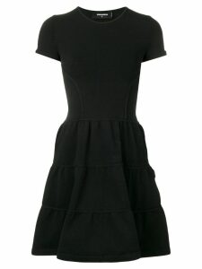 Dsquared2 flared short dress - Black
