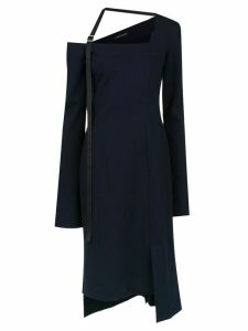 Gloria Coelho off the shoulder dress - Blue