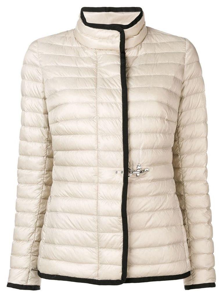 Fay puffer jacket - Neutrals