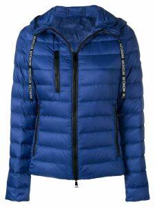 Moncler hooded padded jacket - Blue