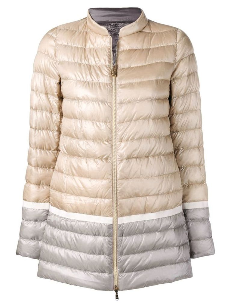 Herno padded mid coat - Neutrals
