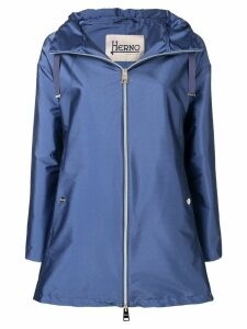 Herno classic rain coat - Blue