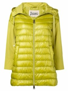 Herno zipped padded jacket - Green
