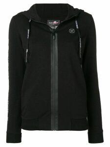 Plein Sport Tiger zipped-up cardigan - Black