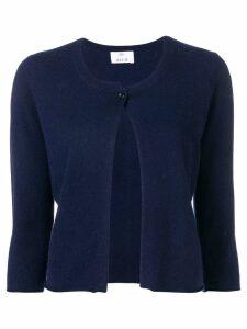 Allude single-button cardigan - Blue