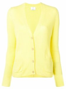 Allude V-neck cardigan - Yellow