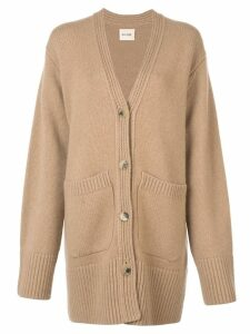 Khaite oversized cardigan - Brown