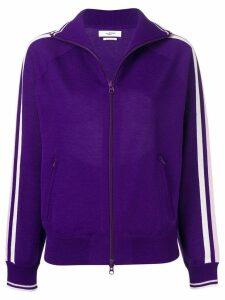 Isabel Marant Étoile striped detail cardigan - Purple