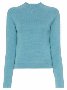 Carcel Milano alpaca wool jumper - Blue