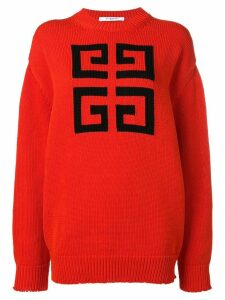 Givenchy 4G logo sweater - Red